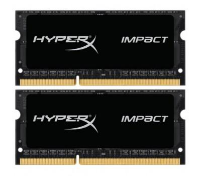 Модуль памяти для ноутбука SoDIMM DDR3L 16GB (2x8GB) 1600 MHz Kingston (HX316LS9IBK2/16)
