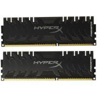 Модуль пам'яті для комп'ютера DDR4 64GB (2x32GB) 3200 MHz HyperX Predator Black Kingston (HX432C16PB3K2/64)