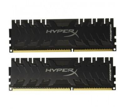 Модуль пам'яті для комп'ютера DDR4 64GB (2x32GB) 3600 MHz HyperX Predator Black Kingston (HX436C18PB3K2/64)