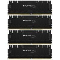 Модуль пам'яті для комп'ютера DDR4 4x32GB/3600 Kingston HyperX Predator Black (HX436C18PB3K4/128)