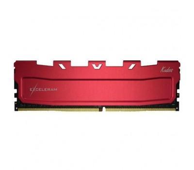 Модуль пам'яті для комп'ютера DDR4 8GB 3200 MHz Kudos Red eXceleram (EKRED4083217A)
