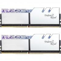 Модуль памяти для компьютера DDR4 16GB (2x8GB) 3200 MHz Trident Z Royal RGB Silver G.Skill (F4-3200C16D-16GTRS)