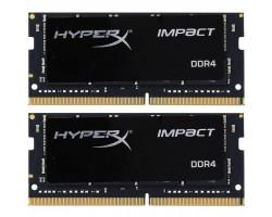 Модуль пам'яті для ноутбука SoDIMM DDR4 32GB (2x16GB) 2400 MHz HyperX Impact Kingston (HX424S14IBK2/32)