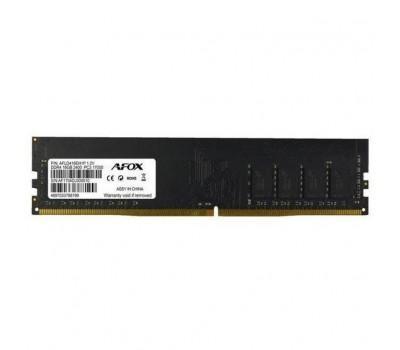 Модуль пам'яті для комп'ютера DDR4 4GB 2133 MHz Afox (AFLD44EK2P)