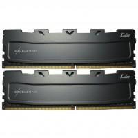 Модуль пам'яті для комп'ютера DDR4 16GB (2x8GB) 2400 MHz Black Kudos eXceleram (EKBLACK4162414AD)