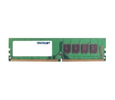 Модуль пам'яті для комп'ютера DDR4 4GB 2400 MHz Patriot (PSD44G240082)
