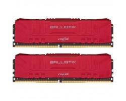Модуль пам'яті для комп'ютера DDR4 16GB (2x8GB) 3000 MHz Ballistix Red MICRON (BL2K8G30C15U4R)