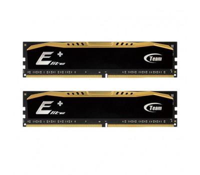 Модуль пам'яті для комп'ютера DDR4 16GB (2x8GB) 2400 MHz Elit Plus Team (TPD416G2400HC16DC01)