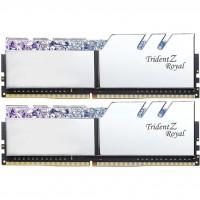 Модуль памяти для компьютера DDR4 16GB (2x8GB) 3600 MHz Trident Z RGB Royal Silver G.Skill (F4-3600C18D-16GTRS)