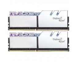Модуль пам'яті для комп'ютера DDR4 16GB (2x8GB) 3600 MHz Trident Z RGB Royal Silver G.Skill (F4-3600C18D-16GTRS)