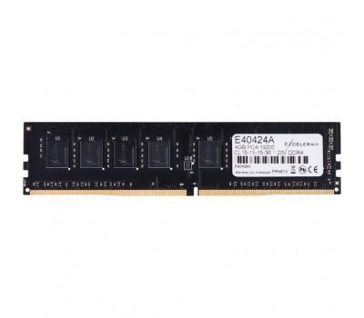 Модуль памяти для компьютера DDR4 4GB 2400 MHz eXceleram (E40424A)