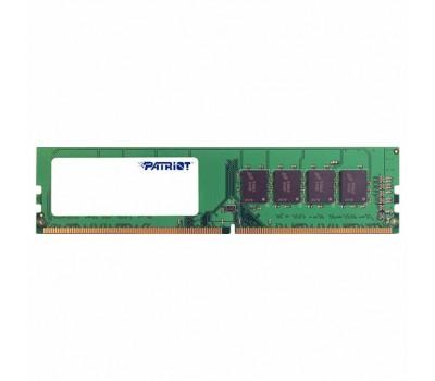 Модуль пам'яті для комп'ютера DDR4 4GB 2400 MHz Patriot (PSD44G240081)