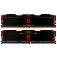 Модуль пам'яті для комп'ютера DDR4 16GB (2X8GB) 3200 MHz IRDM X Black Goodram (IR-X3200D464L16SA/16GDC)