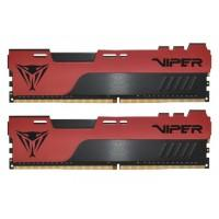 Модуль пам'яті для комп'ютера DDR4 16GB (2x8GB) 3200 MHz Viper Elite II Red Patriot (PVE2416G320C8K)