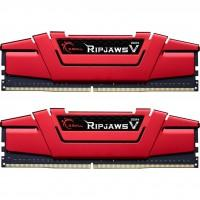Модуль пам'яті для комп'ютера DDR4 32GB (2x16GB) 3000 MHz Ripjaws V Red G.Skill (F4-3000C16D-32GVRB)