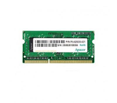 Модуль памяти для ноутбука SoDIMM DDR3 8GB 1600 MHz Apacer (AS08GFA60CATBGC)