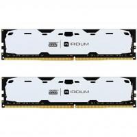 Модуль памяти для компьютера DDR4 8GB (2x4GB) 2400 MHz Iridium White GOODRAM (IR-W2400D464L15S/8GDC)