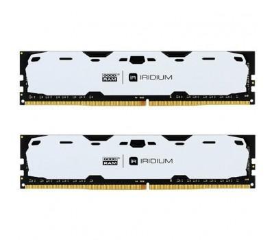 Модуль пам'яті для комп'ютера DDR4 8GB (2x4GB) 2400 MHz Iridium White GOODRAM (IR-W2400D464L15S/8GDC)