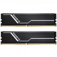 Модуль пам'яті для комп'ютера DDR4 16GB (2x8GB) 2666 MHz Timing GIGABYTE (GP-GR26C16S8K2HU416)