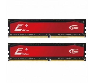 Модуль пам'яті для комп'ютера DDR4 16GB (2x8GB) 2400 MHz Elite Plus Red Team (TPRD416G2400HC16DC01)
