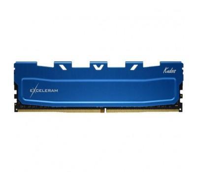 Модуль пам'яті для комп'ютера DDR4 8GB 3000 MHz Blue Kudos eXceleram (EKBLUE4083021A)