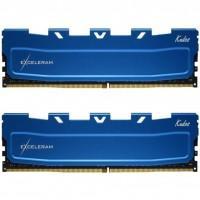 Модуль пам'яті для комп'ютера DDR4 16GB (2x8GB) 3000 MHz Blue Kudos eXceleram (EKBLUE4163021AD)