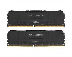Модуль пам'яті для комп'ютера DDR4 32GB (2x16GB) 2666 MHz Ballistix Black MICRON (BL2K16G26C16U4B)