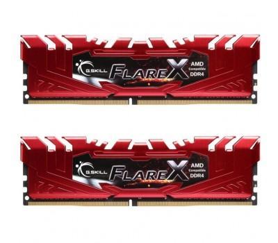 Модуль памяти для компьютера DDR4 16GB (2x8GB) 2400 MHz Flare X Red G.Skill (F4-2400C15D-16GFXR)