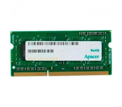 Модуль пам'яті для ноутбука SoDIMM DDR3 8GB 1600 MHZ Apacer (DS.08G2K.KAM)