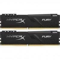 Модуль пам'яті для комп'ютера DDR4 16GB (2x8GB) 3000 MHz HyperX FURY Black Kingston (HX430C15FB3K2/16)