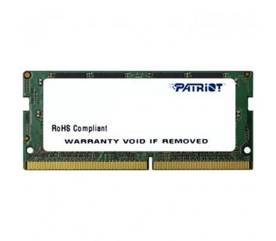 Модуль пам'яті для ноутбука SoDIMM DDR4 4GB 2400 MHz Patriot (PSD44G240081S)