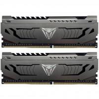 Модуль памяти для компьютера DDR4 16GB (2x8GB) 3000 MHz Viper Steel Patriot (PVS416G300C6K)