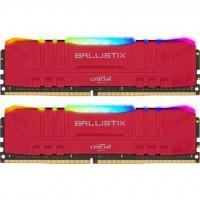 Модуль пам'яті для комп'ютера DDR4 32GB (2x16GB) 3200 MHz Ballistix Red RGB MICRON (BL2K16G32C16U4RL)