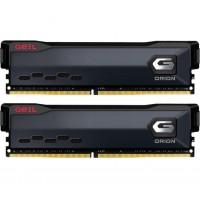 Модуль пам'яті для комп'ютера DDR4 16GB (2x8GB) 3200 MHz Orion Black Geil (GOG416GB3200C16ADC)