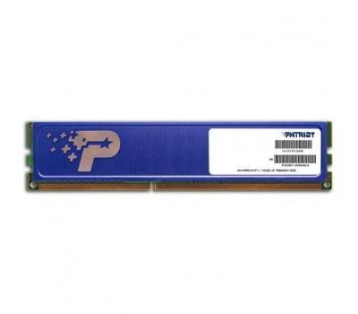 Модуль пам'яті для комп'ютера DDR3 4GB 1600 MHz Patriot (PSD34G160081H)