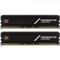 Модуль пам'яті для комп'ютера DDR4 8GB (2x4GB) 3000 MHz Radeon R9 AMD (R9S48G3000U1K)