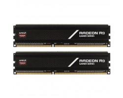 Модуль памяти для компьютера DDR4 8GB (2x4GB) 3000 MHz Radeon R9 AMD (R9S48G3000U1K)