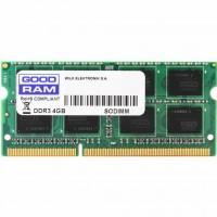 Модуль памяти для ноутбука SoDIMM DDR3 4GB 1600 MHz GOODRAM (GR1600S364L11/4G)