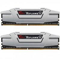Модуль памяти для компьютера DDR4 16GB (2x8GB) 2666 MHz RipjawsV Silver G.Skill (F4-2666C15D-16GVS)