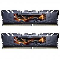 Модуль пам'яті для комп'ютера DDR4 16GB (2x8GB) 3000 MHz Ripjaws4 Black G.Skill (F4-3000C15D-16GRK)