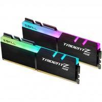 Модуль пам'яті для комп'ютера DDR4 16GB (2x8GB) 3000 MHz TridentZ RGB Black G.Skill (F4-3000C16D-16GTZR)