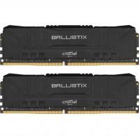 Модуль пам'яті для комп'ютера DDR4 16GB (2x8GB) 2666 MHz Ballistix Black MICRON (BL2K8G26C16U4B)