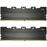 Модуль памяти для компьютера DDR4 16GB (2x8GB) 3000 MHz Black Kudos eXceleram (EKBLACK4163018AD)