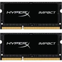 Модуль пам'яті для ноутбука SoDIMM DDR3L 8GB (2x4GB) 1600 MHz HyperX Impact Kingston (HX316LS9IBK2/8)
