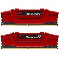 Модуль памяти для компьютера DDR4 16GB (2x8GB) 3000 MHz RipjawsV Red G.Skill (F4-3000C15D-16GVR)