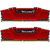 Модуль пам'яті для комп'ютера DDR4 16GB (2x8GB) 3000 MHz RipjawsV Red G.Skill (F4-3000C15D-16GVR)