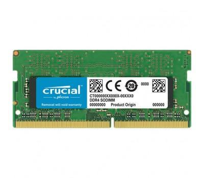 Модуль пам'яті для ноутбука SoDIMM DDR4 4GB 2400 MHz MICRON (CT4G4SFS824A)