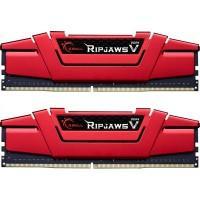 Модуль пам'яті для комп'ютера DDR4 32GB (2x16GB) 2666 MHz Ripjaws V Red G.Skill (F4-2666C19D-32GVR)
