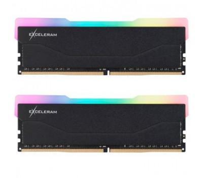 Модуль пам'яті для комп'ютера DDR4 32GB (2x16GB) 3600 MHz RGB X2 Series Black eXceleram (ERX2B432369CD)