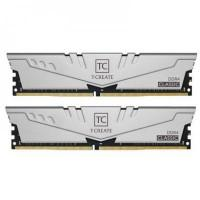 Модуль пам'яті для комп'ютера DDR4 PC4-21300 (3200 MHz) Team T-Create Classic 10L Gray (2x16GB) (TTCCD432G3200HC22DC01)